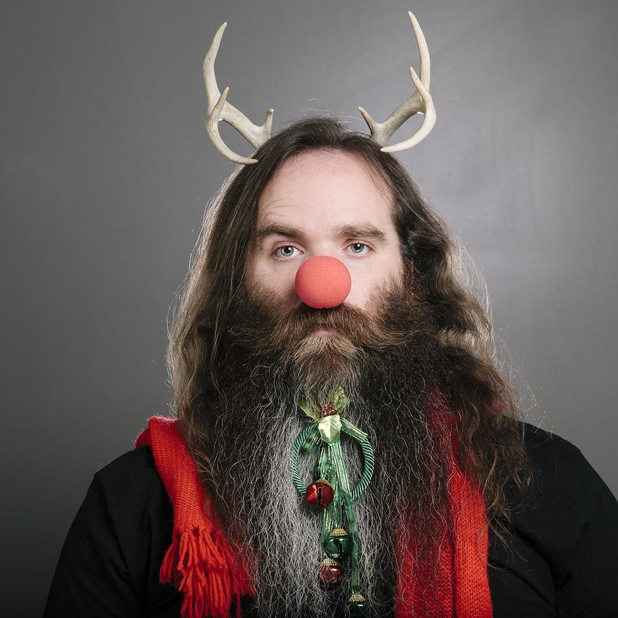 Karácsonyi szakáll díszítés – múlt, jelen, jövő