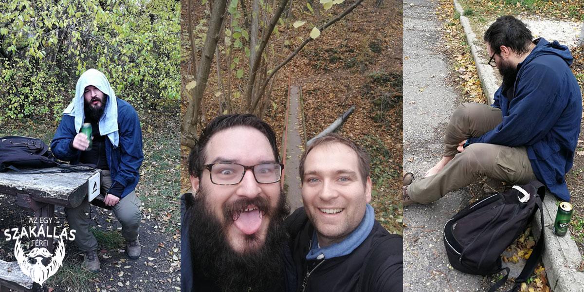 Az Egy szakállas férfi túrázni volt – visszaemlékezés