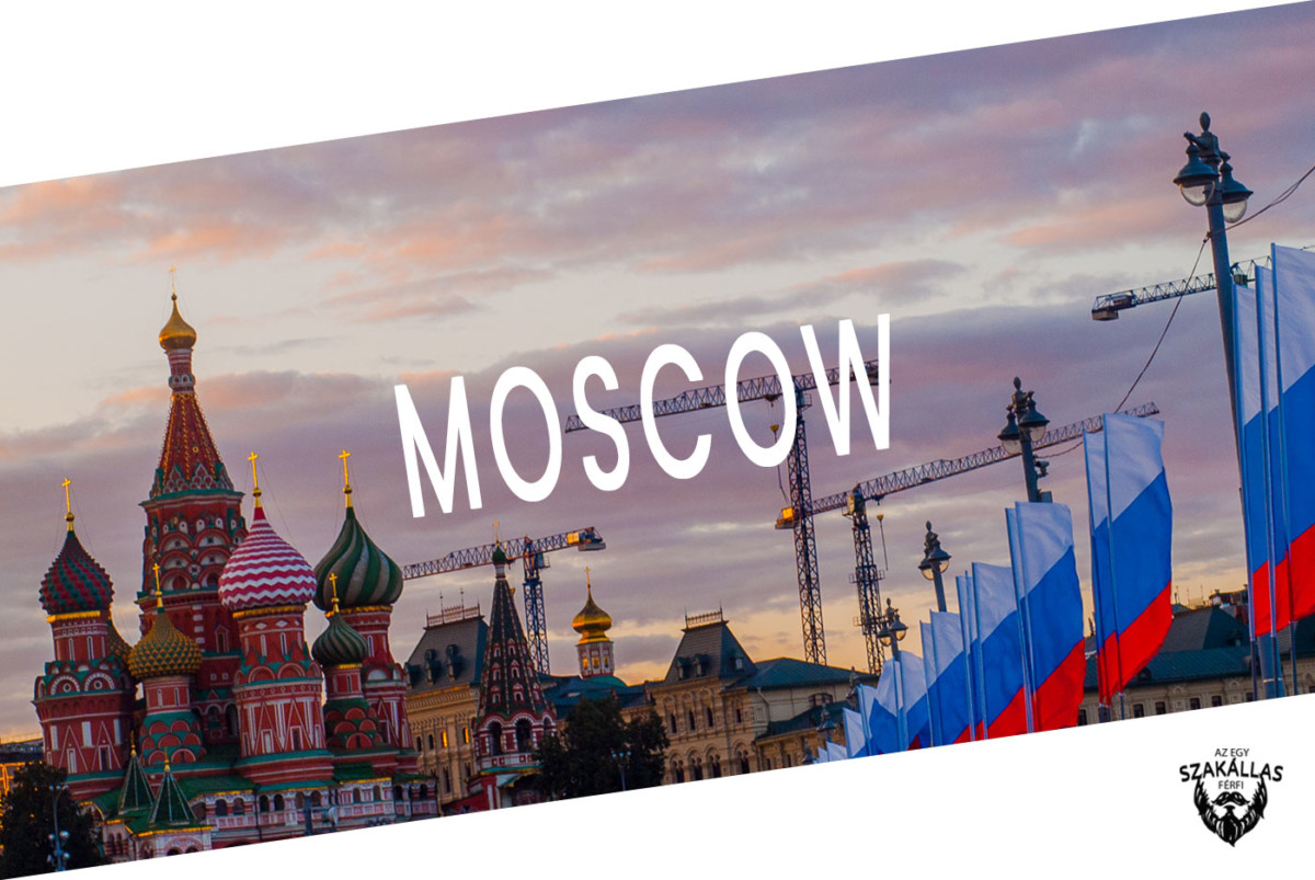 Konklúzió: az Egy szakállas férfi és Bélushkái menni Moscow