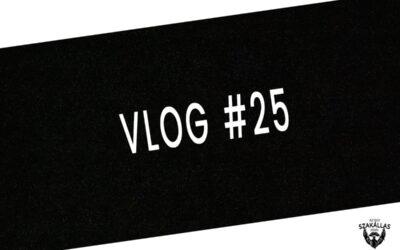 VLOG #25- LESZAROM TABLETTA – az Egy szakállas férfi VLOG-ja mindenről IS