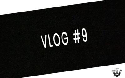 VLOG #9 – SZAKÁLL VAGY NEM SZAKÁLL?, OLVASÁS – az Egy szakállas férfi VLOG-ja mindenről IS